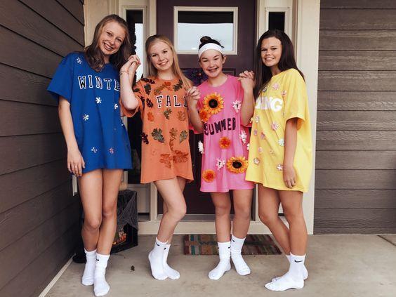Girlfriend Group Halloween Costumes Cute Group Halloween Costumes Halloween Costumes Friends Duo Halloween Costumes