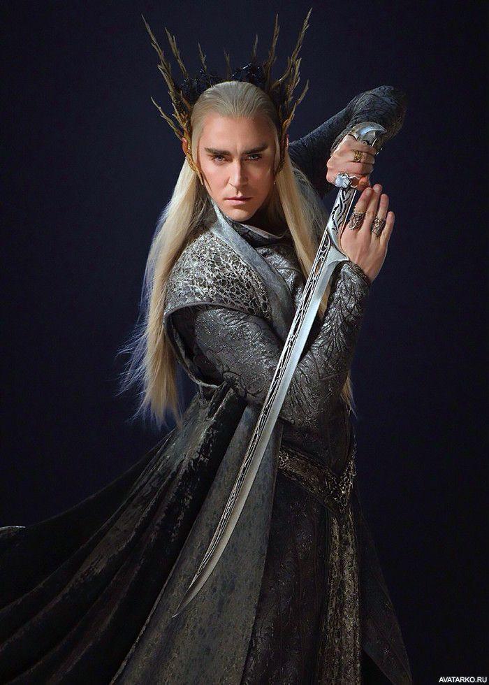 Трандуил показывает свой крутой эльфийский меч — Картинки ...