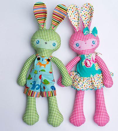 Cute Bunny PATTERN - Benny & Boo - MM142   Pinterest