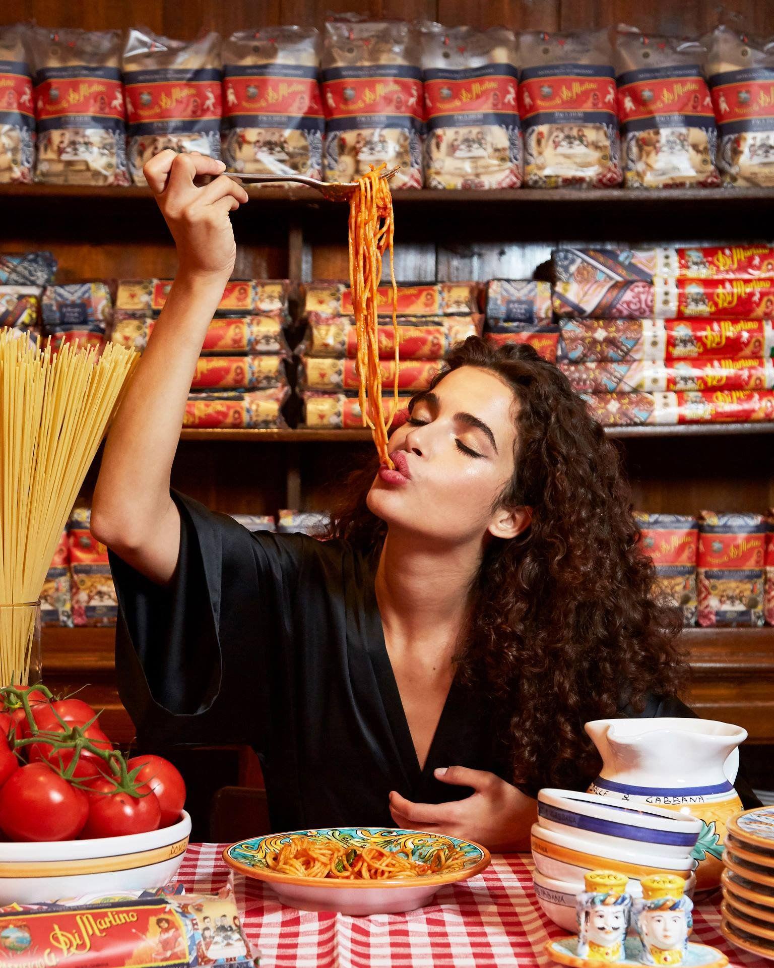 HD Chiara Scelsi für Dolce & Gabbana Pasta Di Martino