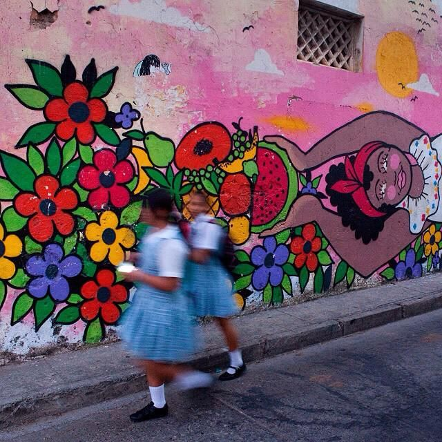 #streetart in getsemani w/ photographer,@camcopephoto .Find out what we got up to in the latest issue of @GetLostMag