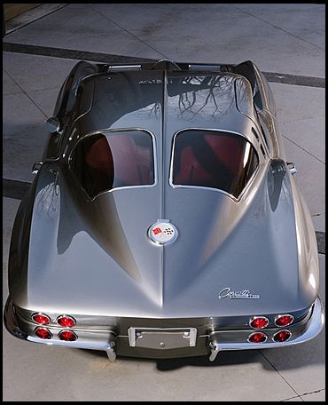 1963 Corvette With The Split Window Classic Cars Chevrolet