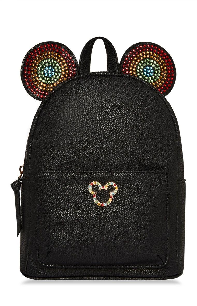 56bb513a00 Primark - Black Rainbow Mickey Backpack