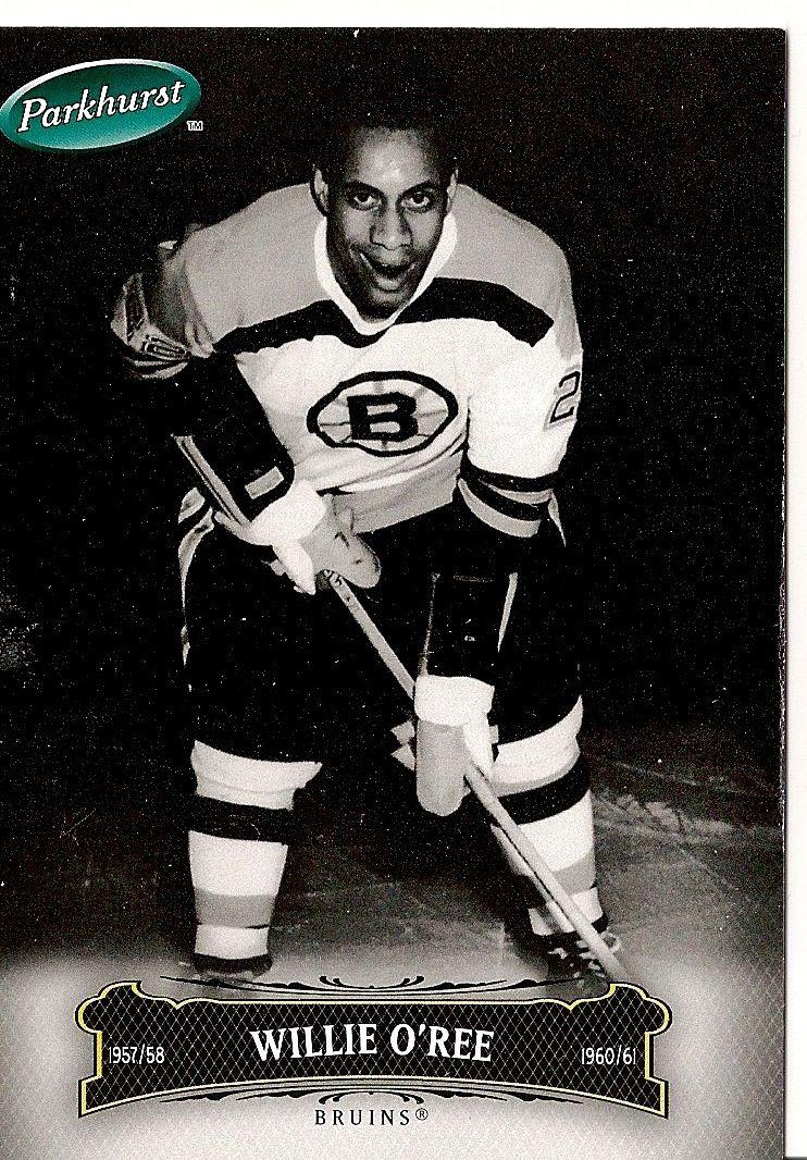 Willie Eldon O'Ree - Breaking the colour barrier | Hockey ...