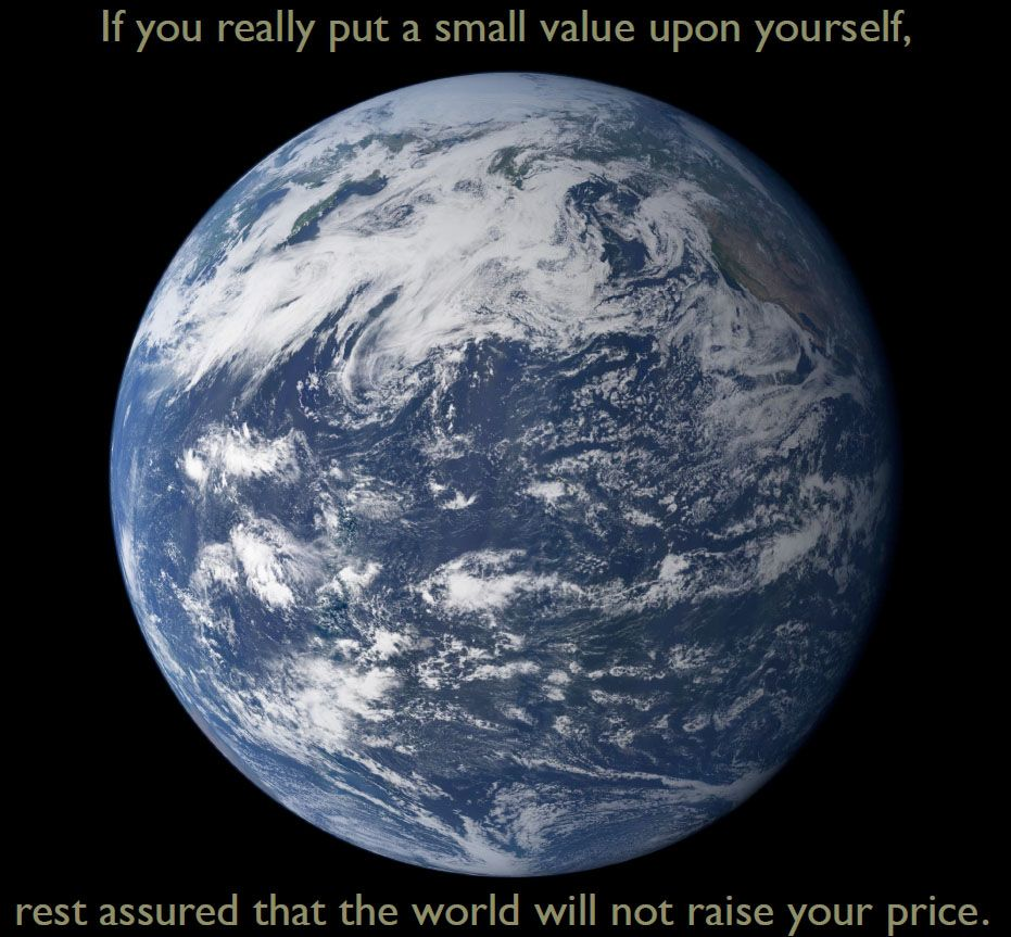 Value yourself correctly