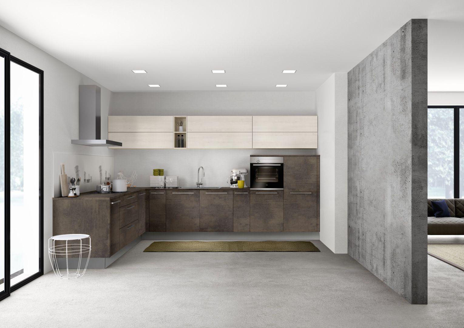 Nolte Stone Kupfer oxid/Manhattan Kiruna Birke  Küche kaufen
