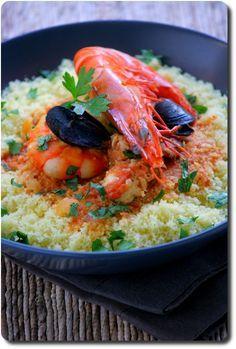 Couscous De Poisson A La Sicilienne Couscous Poisson Cuisine Sicilienne Recettes De Cuisine
