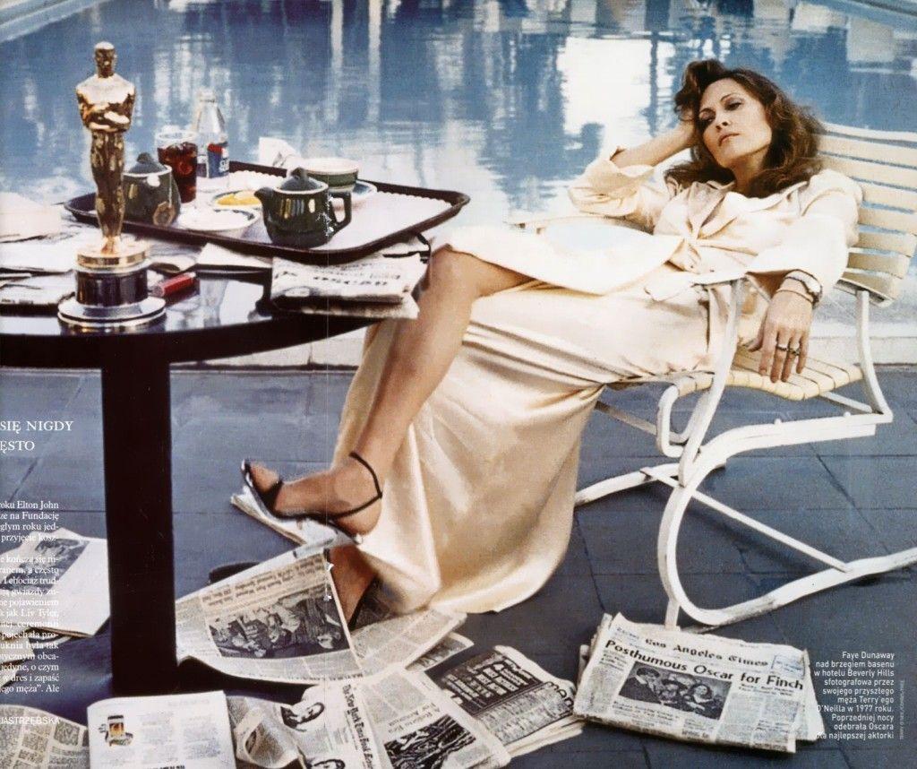 Nicholas Oakwell S La Terry O Neill Beverly Hills Hotel Faye Dunaway