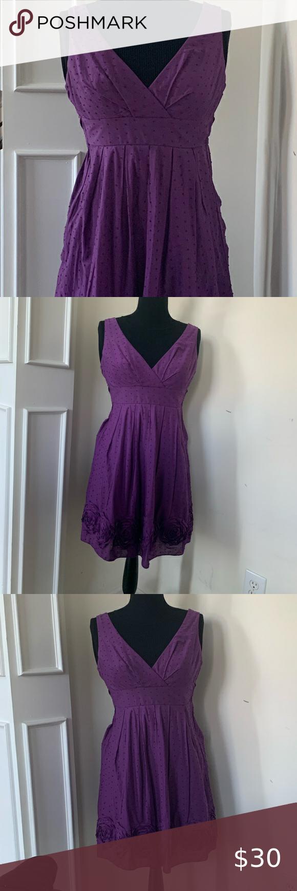 I N San Francisco Purple Rose Border Sundress 5 Purple Mini Dresses Clothes Design Silk Mini Dress [ 1740 x 580 Pixel ]