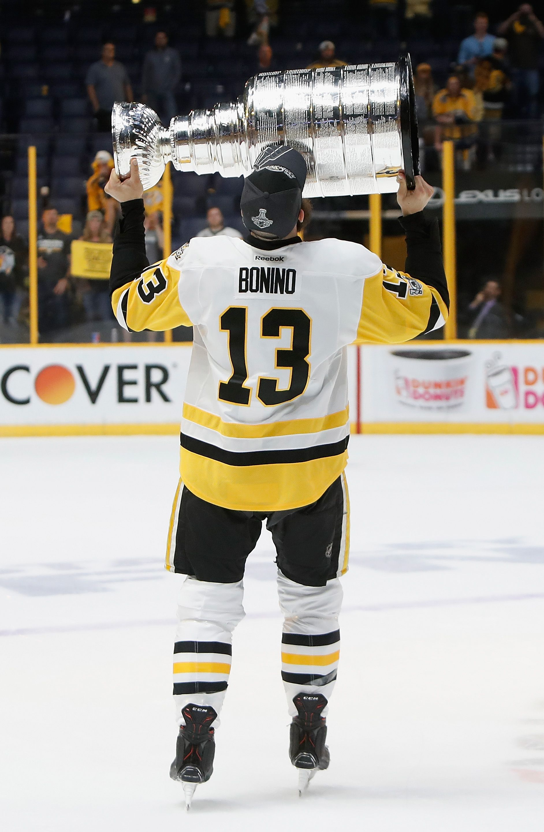 sports shoes e89e2 bac6a 2017 Stanley Cup Champion - Nick Bonino. Finished the ...
