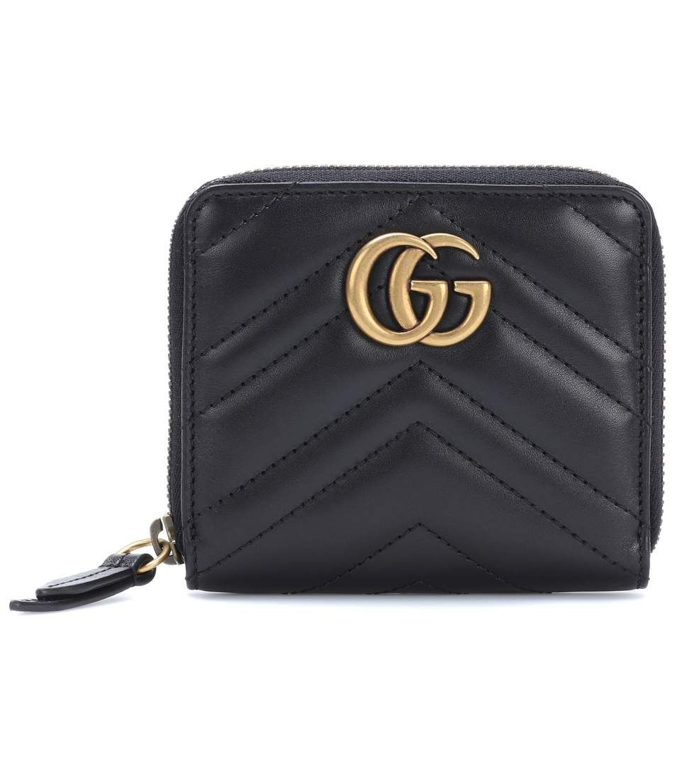 0b1d230dbe3 GUCCI Gg Marmont Matelassé Leather Wallet.  gucci  small leather goods