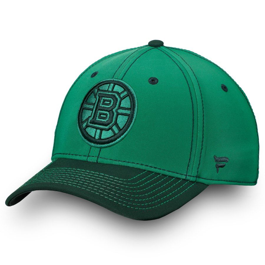 new product ce742 d864e Men s Boston Bruins Fanatics Branded Kelly Green St. Patrick s Day Shamrock  Speed Flex Hat, Your Price   27.99