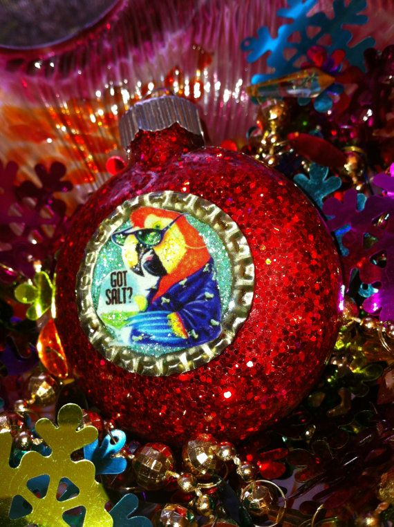 jimmy buffett ornament nice to have in the collection to help keep warm tropical thoughts in winter