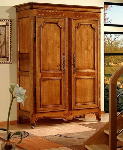 Wardrobe armoire closet armoires wardrobe armoires pinterest armoire wardrobe armoires for Master bedroom set with armoire