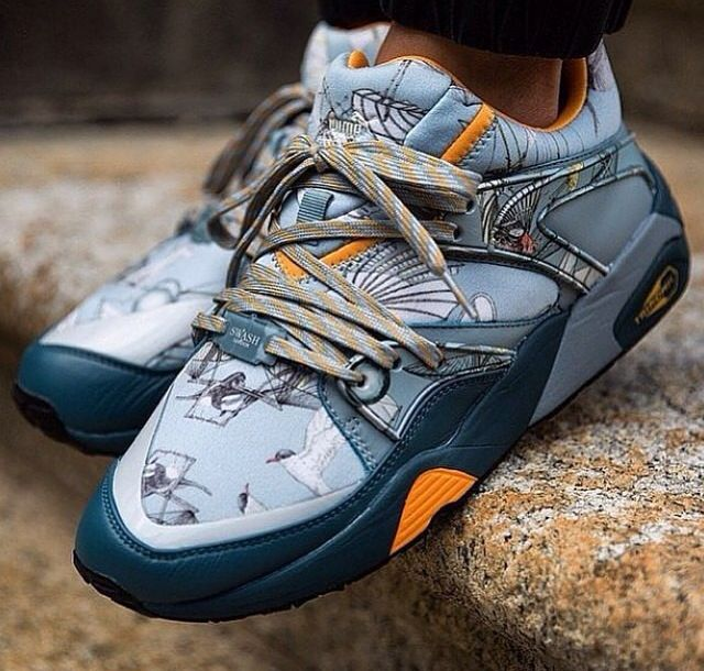 e1c7e869a3 Puma x Swash London - Blaze of Glory  sneakers
