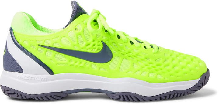 Nike Tennis Air Zoom Cage 3 HC Rubber And Mesh Tennis