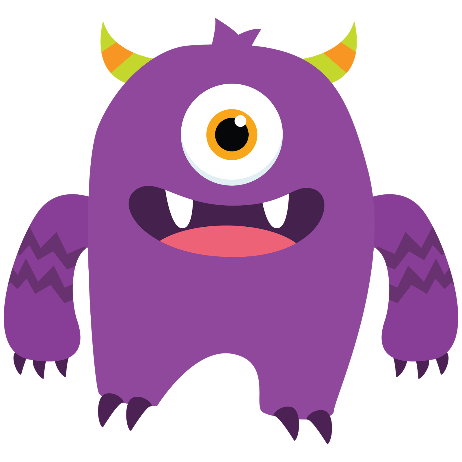 monster clipart free clipart images monster cute pinterest rh pinterest com monster clipart images monster clipart