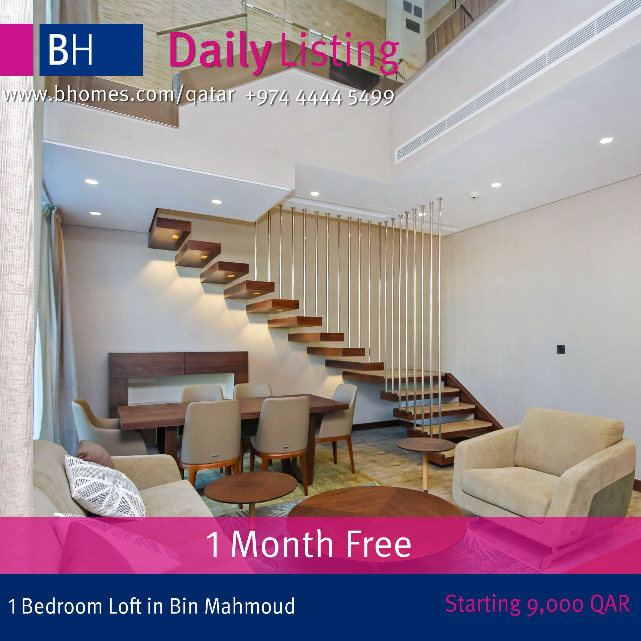 Be The First To Live In The Only One Of Its Kind Loft Style Apartments In Qatar Experience Eleva Loft Style Apartments Furnished Apartment Apartments For Sale