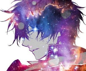 Anime Guy Galaxy Icon Profile Picture Anime Galaxy Anime Anime Drawings Boy