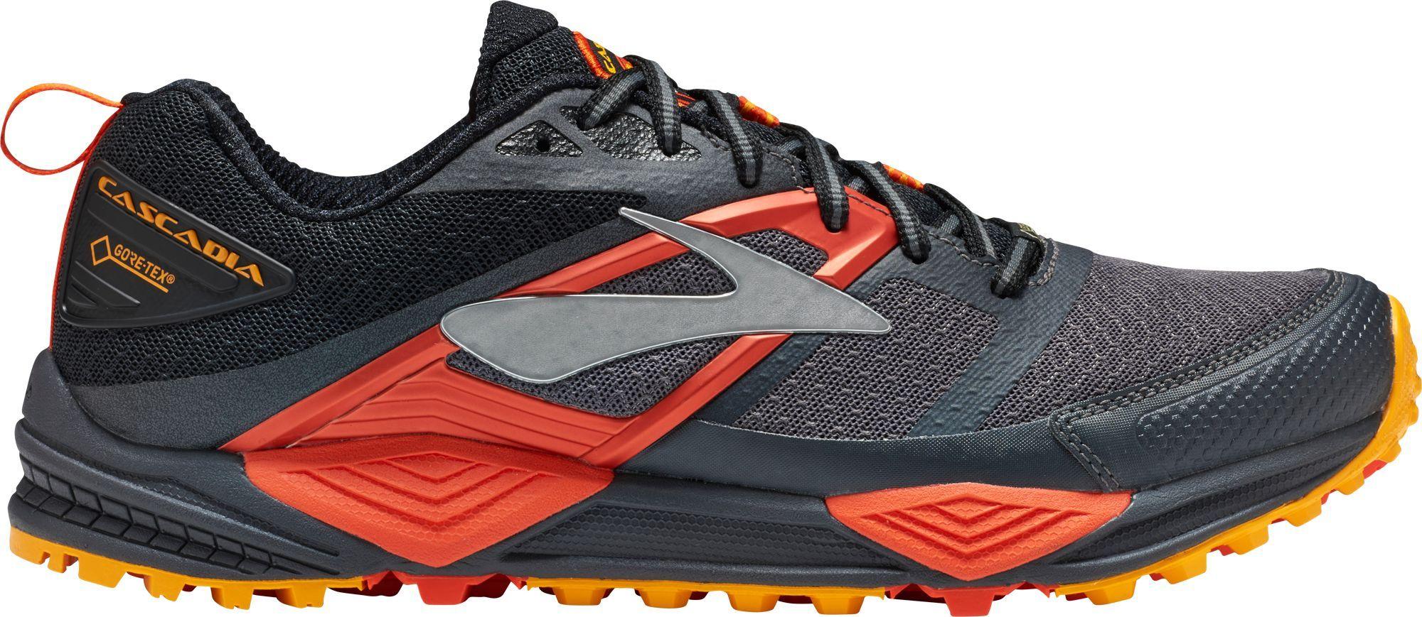 Brooks Men S Cascadia 12 Gtx Trail Running Shoes Mens Trail Running Shoes Trail Running Shoes Running Shoes For Men