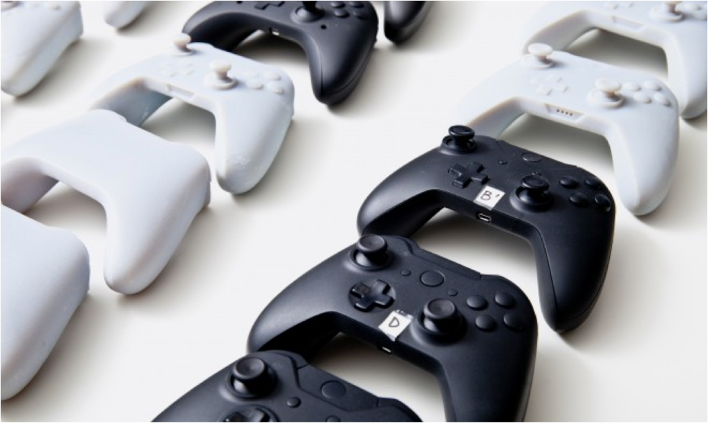 The team considered nearly 200 versions of the controller before settling on the final one.