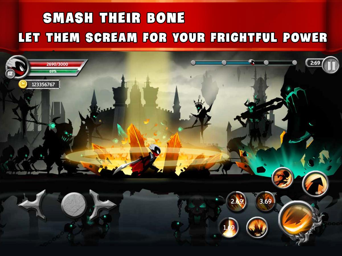 Stickman Legends Ninja Warriors: Shadow War MOD APK v2 3 32