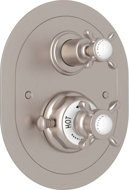 Rohl U 5521x To Perrin And Rowe Thermostatic Shower Valve Trim Trim