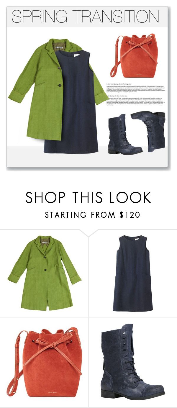 """""""Spring Transition Outfit"""" by jacknthebeansdog ❤ liked on Polyvore featuring Jil Sander, Toast, Mansur Gavriel and ALDO"""