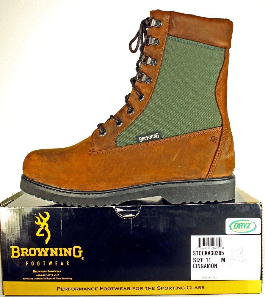 d4a387a47bb Browning Huntsman Insulated Waterproof Hunting Boots 11 M ***NIB ...