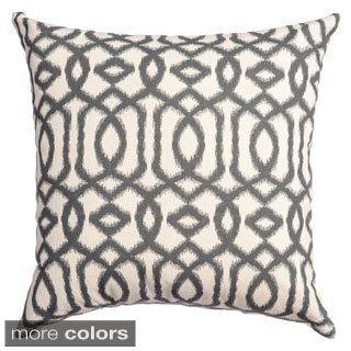 Kaili Ikat Feather Down Filled Throw Pillows Set of 2 Throw