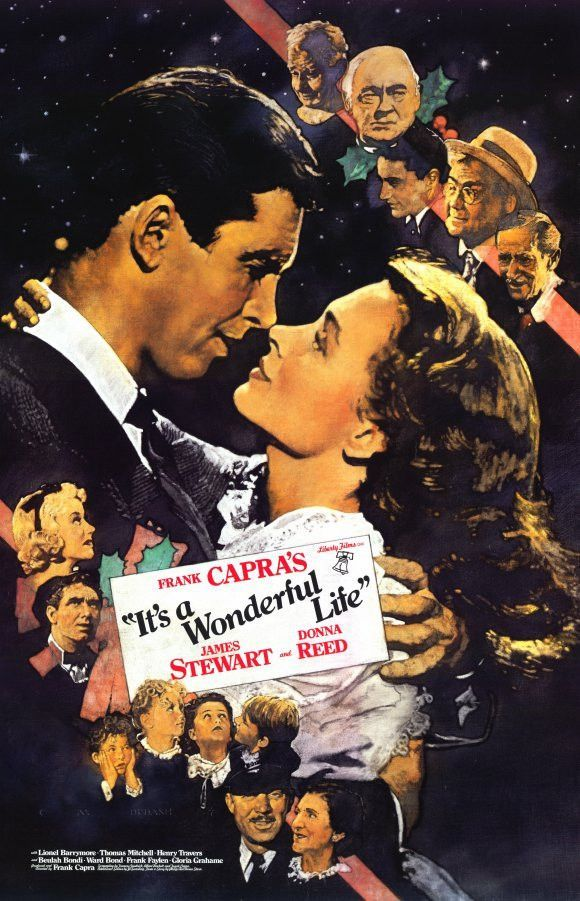 It S A Wonderful Life 11x17 Movie Poster 1946 With Images