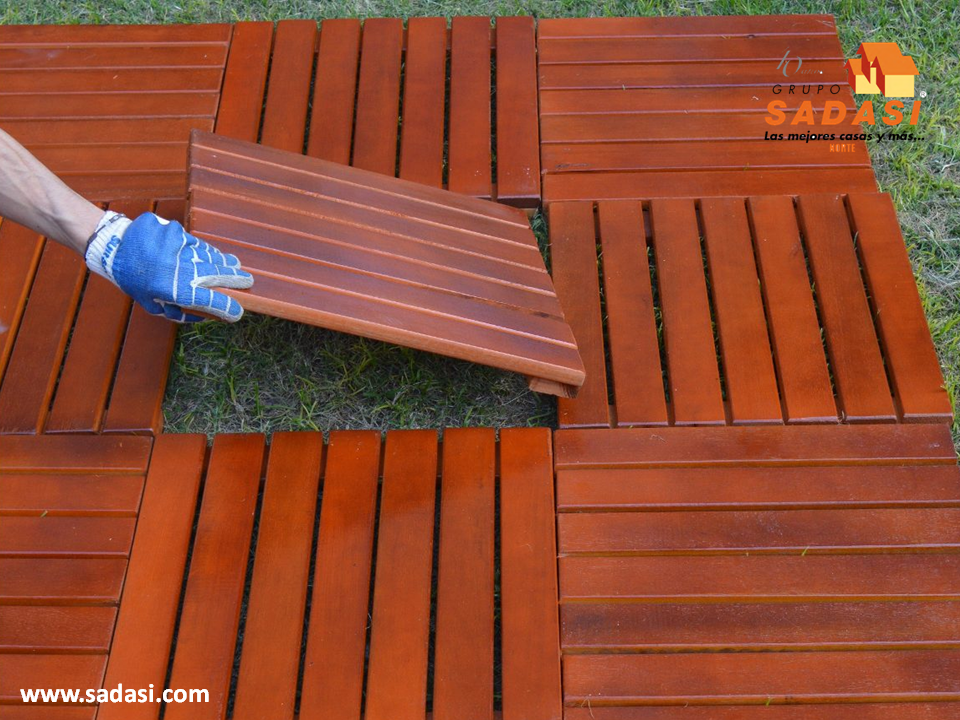 Hogar las mejores casas de m xico si est pensando en colocar piso de madera en el exterior de Mejor madera para exterior