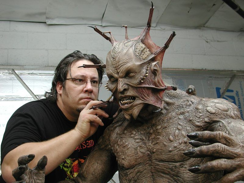Brian Penikas The Man Behind The Fx Work On The Creeper And Allot More Of Your Favorite Movies Jeepers Creepers Creepers Movie Monsters