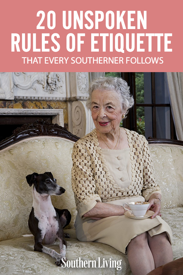 There's social etiquette and then there's Mama'n'em's etiquette. None of these rules are written down. Southerners just absorb them through cornbread and the liquid sugarcane we call sweet tea. #southernliving #lifehacks #lifestyle #emotionalhealth #relationshipadvice