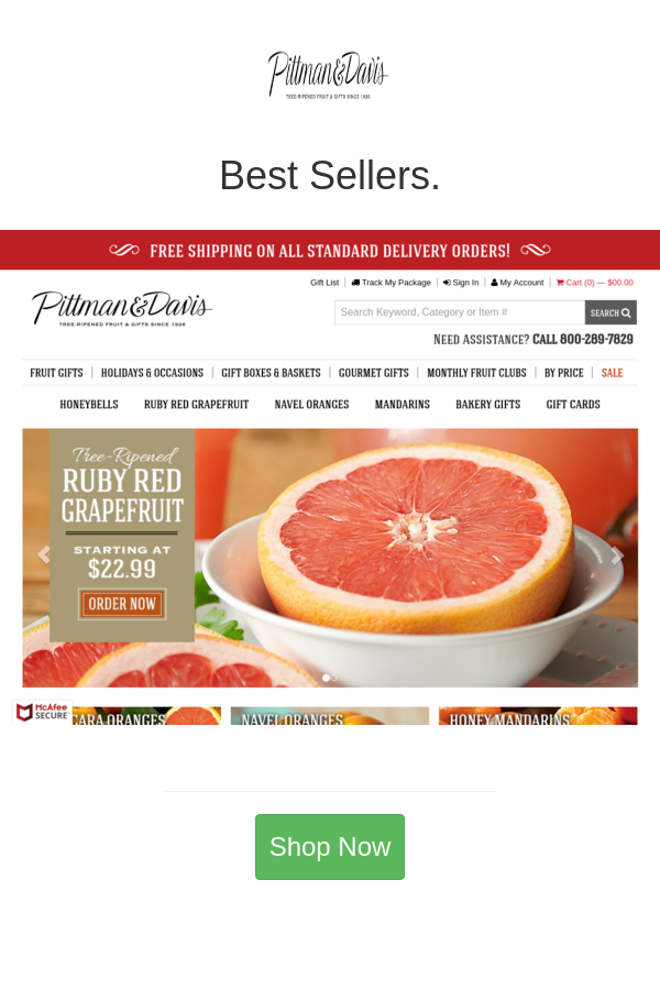 Best deals and coupons for Pittman & Davis in 2020 Fruit