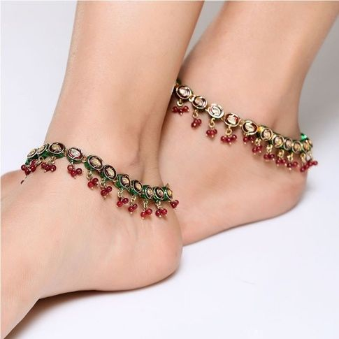 Logic behind Hindu Traditions Anklets (Payal): Though mostly