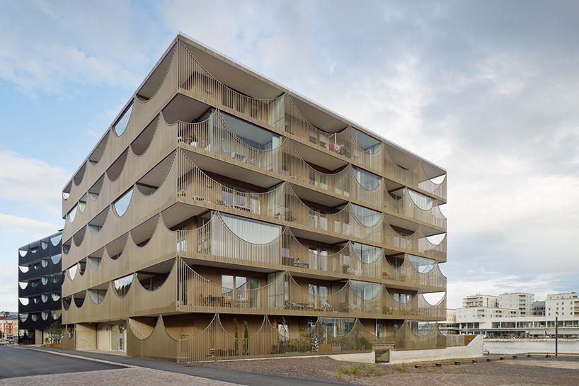 västra kajen housing in sweden by tham & videgård arkitekter