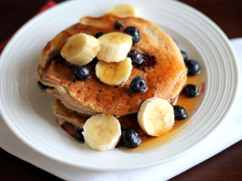 Healthy Oatmeal Cottage Cheese Pancakes Packed With 20g Of Protein To Give  You Boost. The