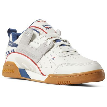 mu chaussures plus workout classic reebok red blanche navy AR34jL5q