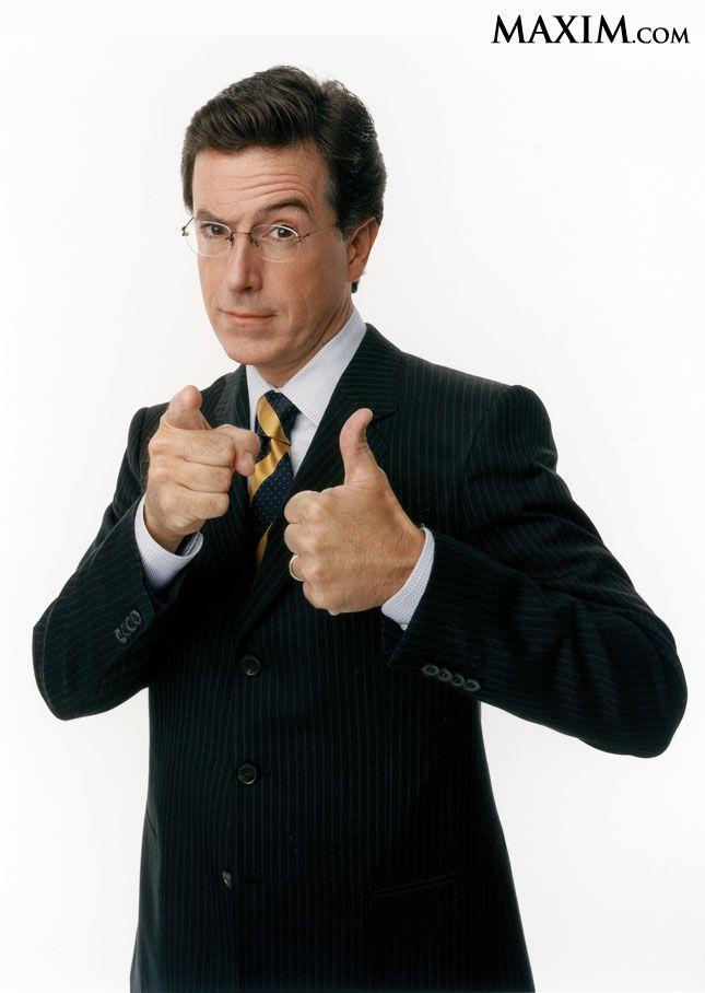 Stephen Colbert makes the Maxim 2012 top 100 hottest women list