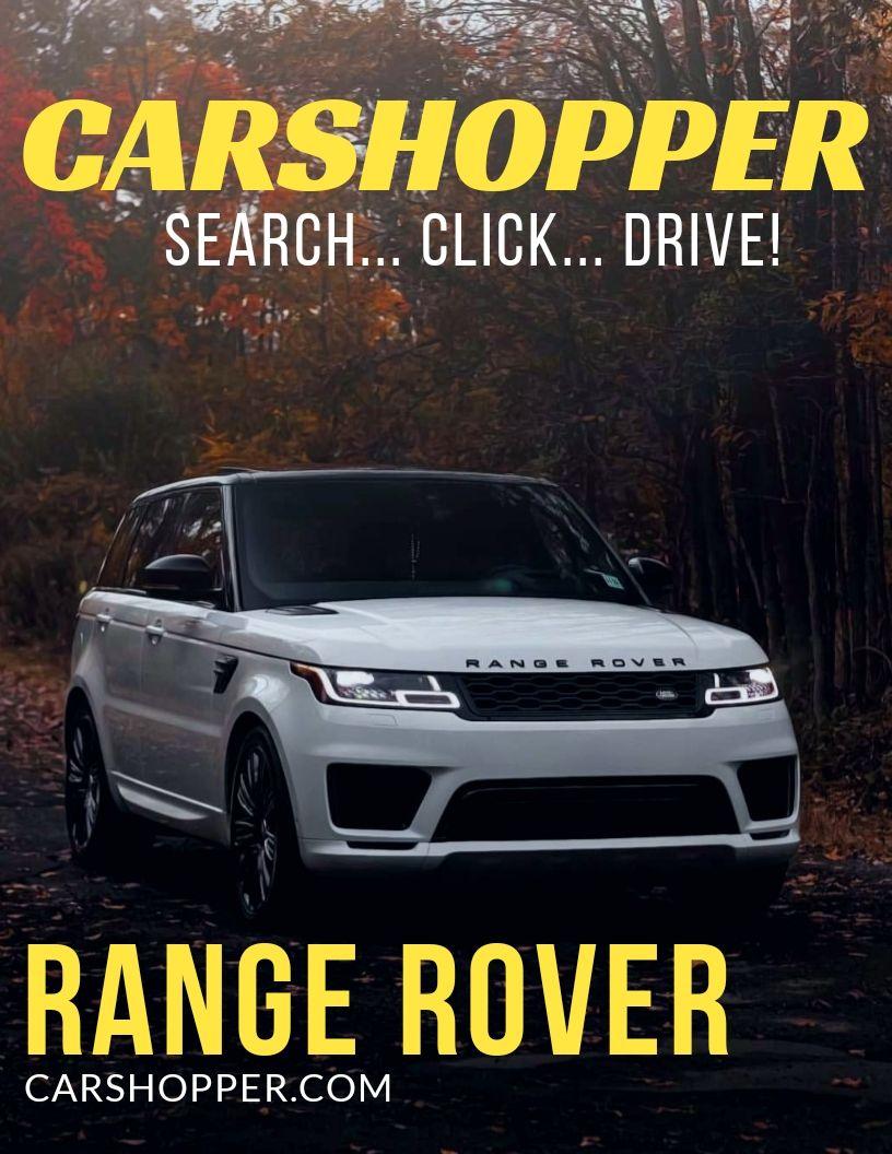 Different Models Land Rover Range Rover Velar Land Rover