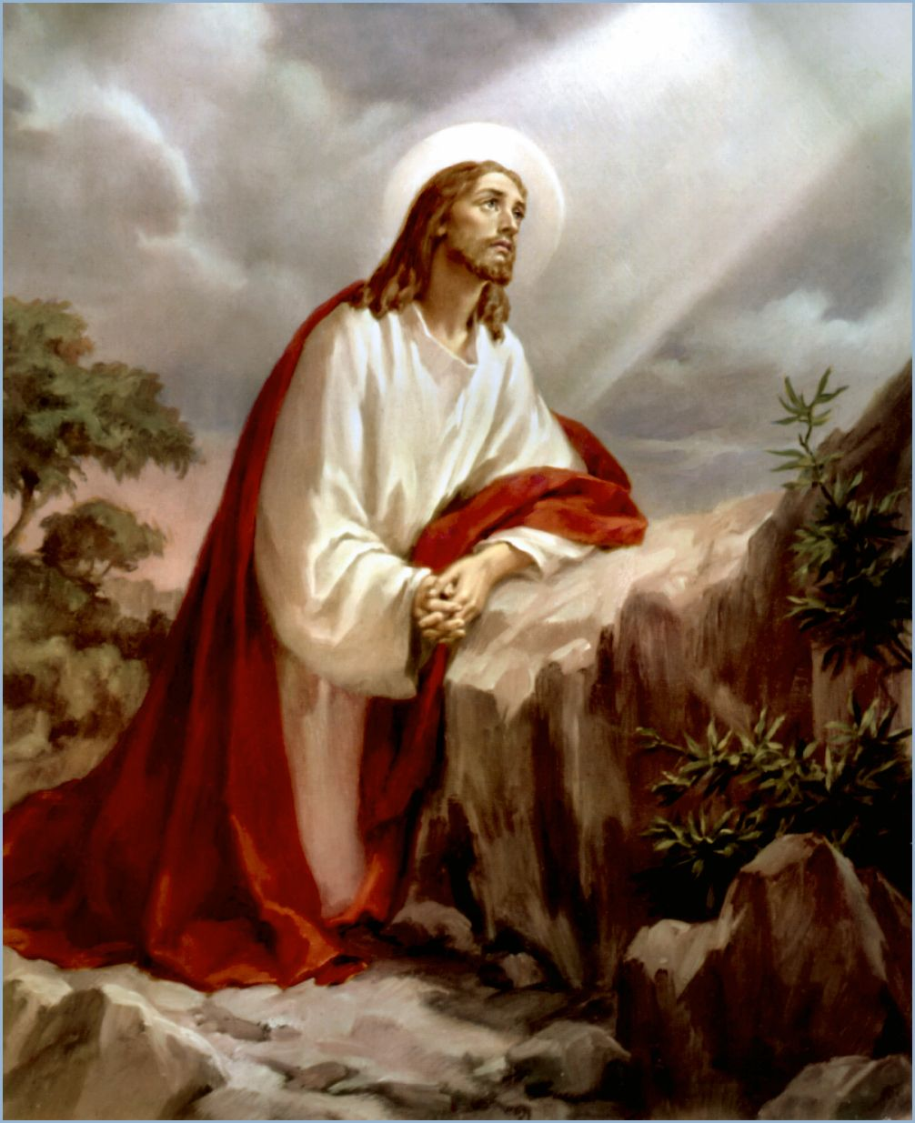 Jesus In Gethsemane Pictures Google Search Easter Pinterest Lord Savior And Religion