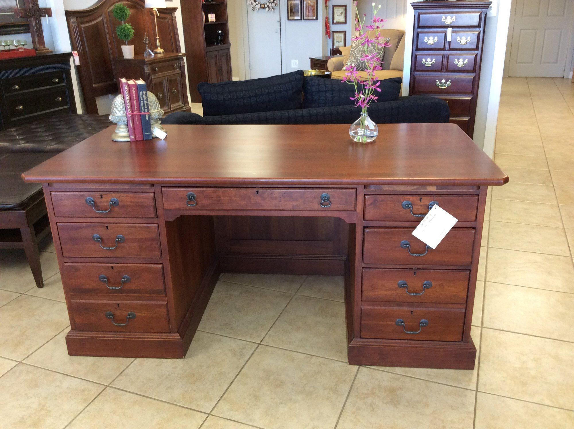 Awesome This Solid Cherry Lexington Desk Inspired By Bob Download Free Architecture Designs Scobabritishbridgeorg