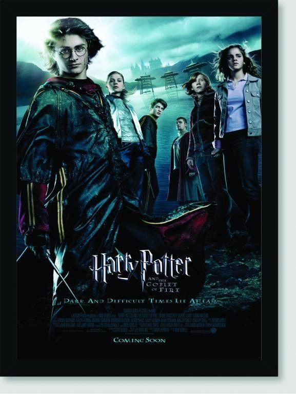 Quadro Poster Filme Harry Potter e o Calice de Fogo 02 | Cartaz harry potter, Filmes de aventura ...
