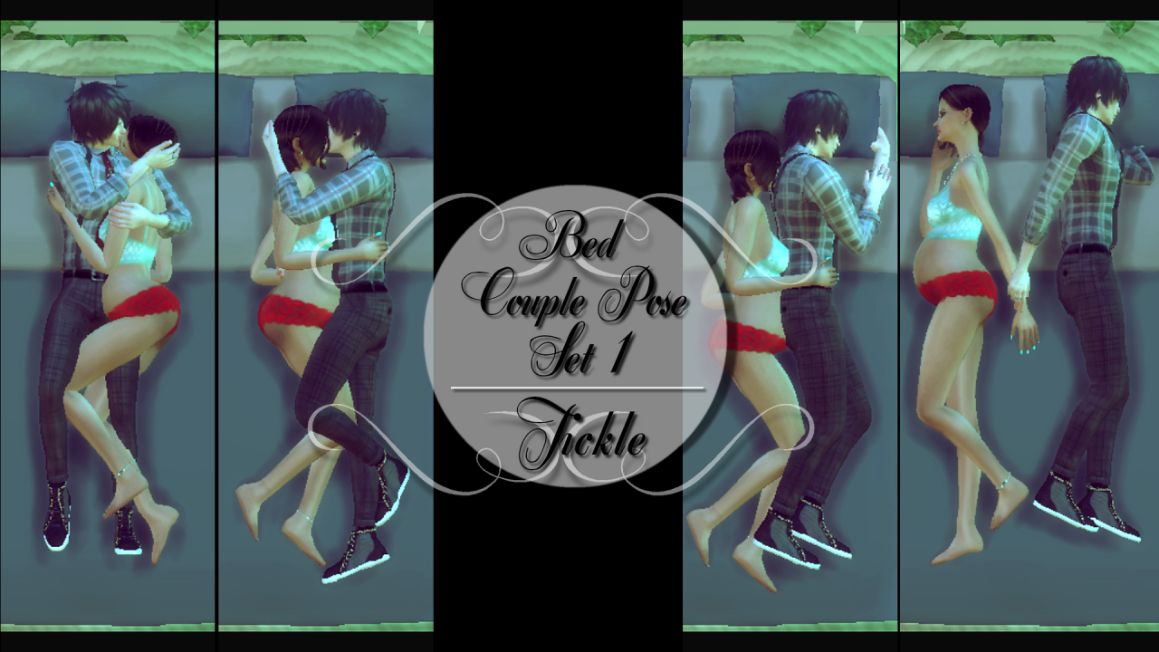 Bed couple pose set 1 tickle ts4 in game download - Sims 3 spielideen ...