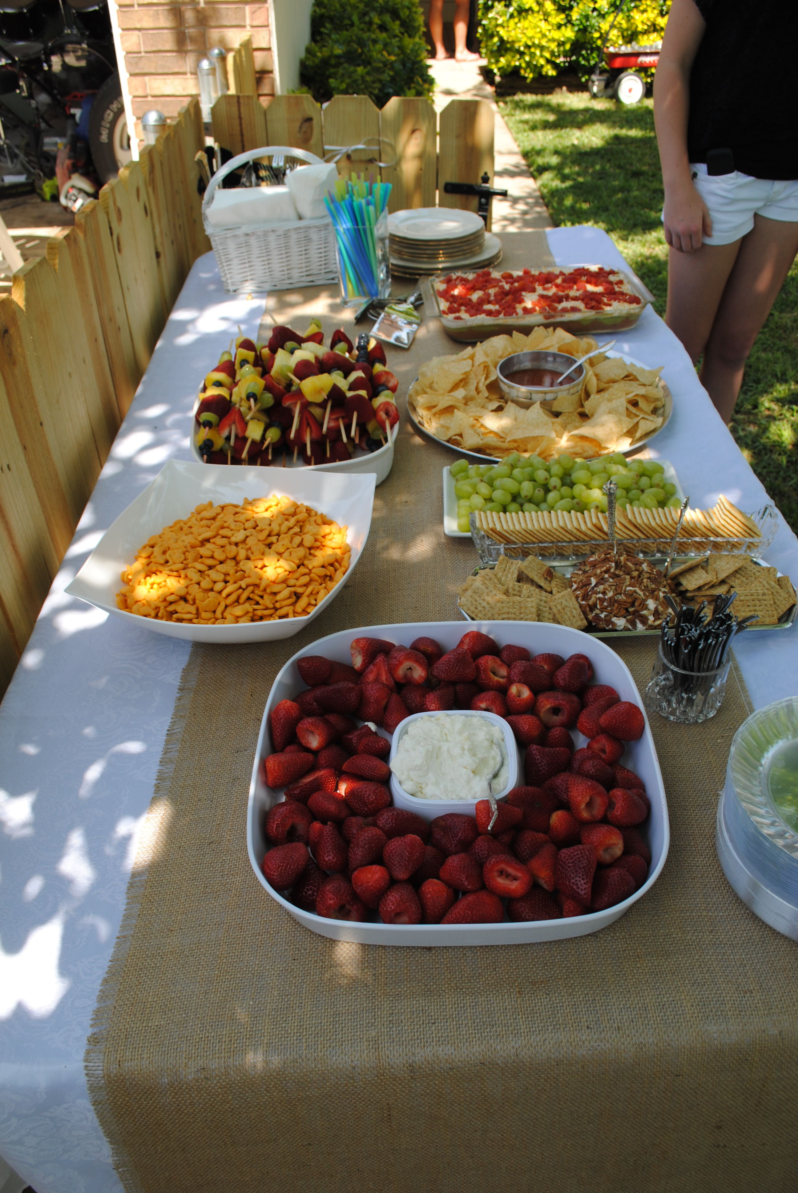 had finger foods Food for a crowd, Food, Food and drink