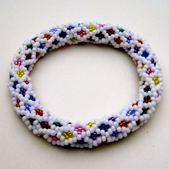Bead Crochet Pattern: Candy Medley Bead por WearableArtEmporium ...