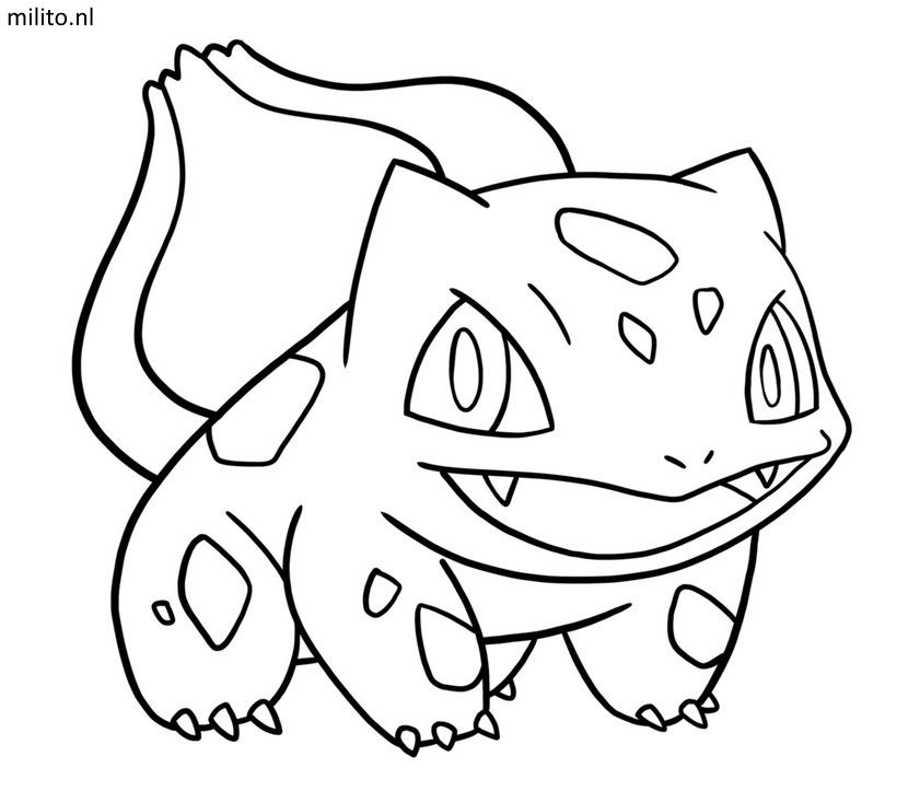 Pokemon Coloring Page Bulbasaur Coloring Pages Pokemon Coloring Pokemon Coloring Pages Coloring Pages
