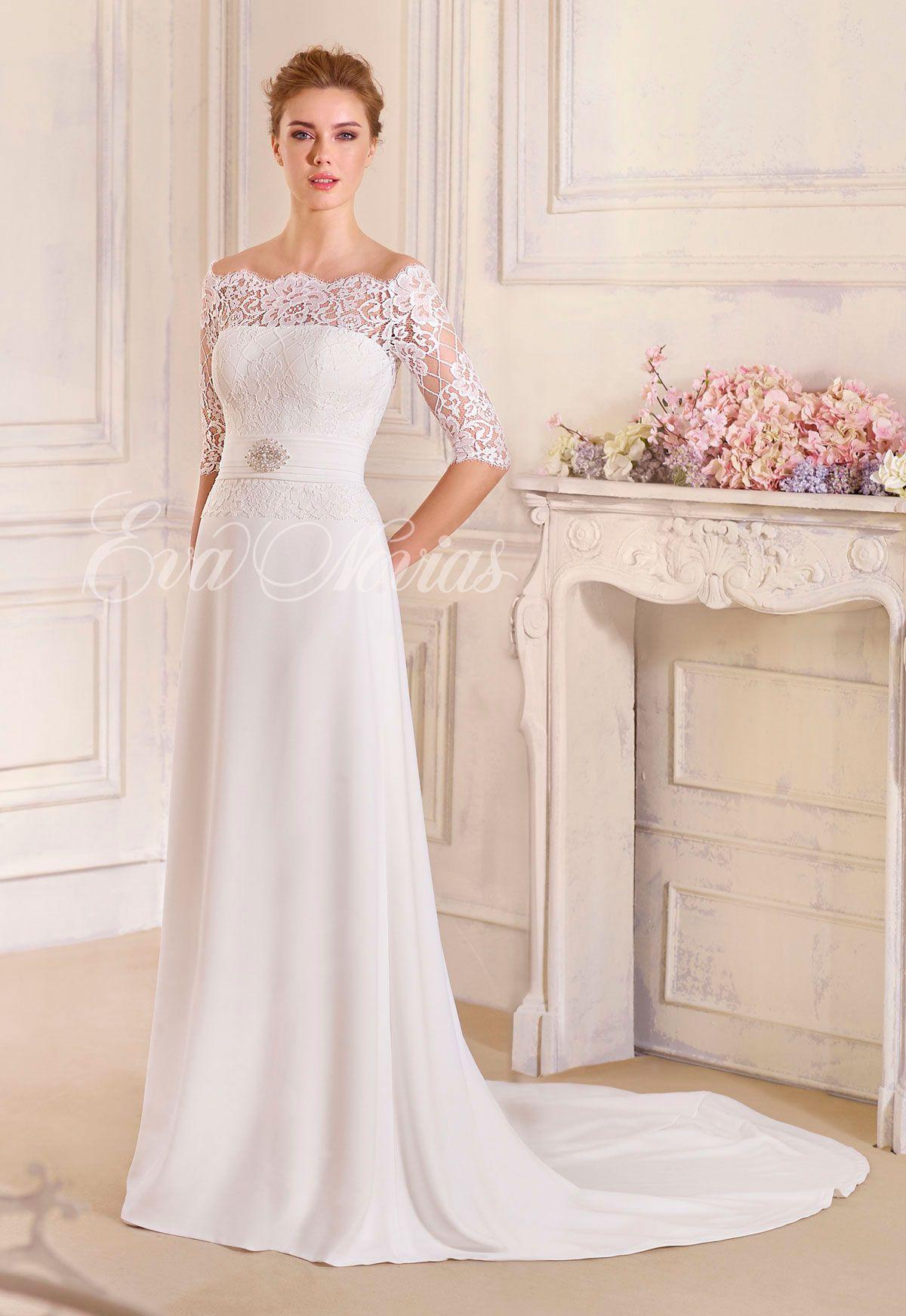 64d5728ab Vestido de novia Modelo Mariana. Colección 2017 de Novia Dart en Eva Novias  Madrid.  vestido  novia  2017  coleccion  weddingdress  fashion   bridalfashion