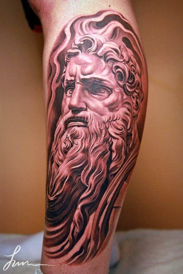 30 Beautiful Tattoos By Jun Cha Between Ancient Greece And